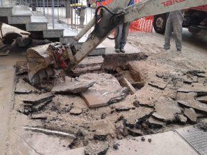 Kanalizacija Mestni trg